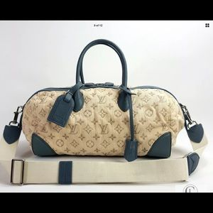 LOUIS VUITTON LIMITED EDITION GM Boston Bag EC